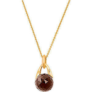 JETTE Gold Collier Smoky sparkle 85404830