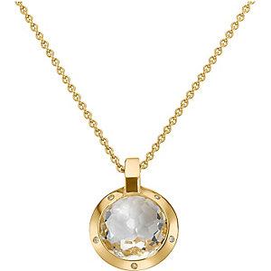 JETTE Gold MAGIC DIAMONDS Collier