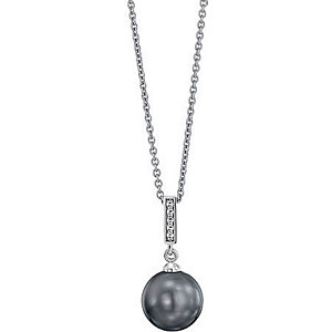 JETTE Silber Collier Magic Pearl