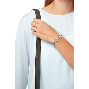 JETTE Silver Armband Endless Love 87011089