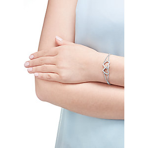 JETTE Silver Armband Moments of Love 86878569