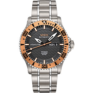 Mido Herrenuhr Ocean Star Captain Titan M0114305406102