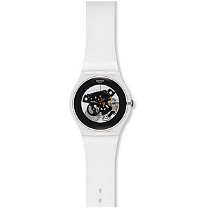 Swatch Damenuhr Black Ghost SUOK107