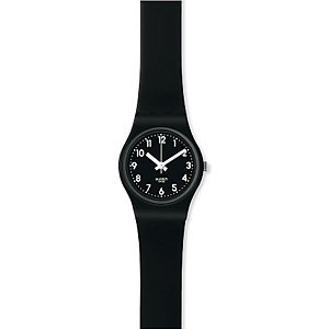 Swatch Damenuhr Lady Black LB170