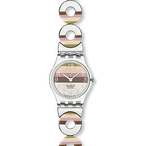 SWATCH Damenuhr Metallic Dune LK258G