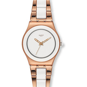 Swatch Damenuhr Rose Pearl YLG121G