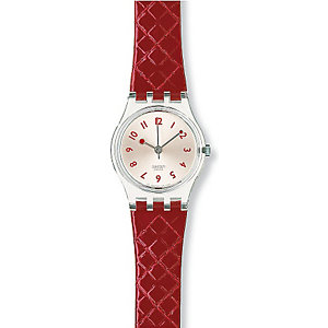SWATCH Damenuhr Strawberry Jam LK243