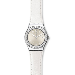 Swatch Damenuhr White Fan YLS448