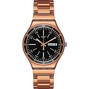 Swatch Herrenchronograph Charcoal Medal Rose YGG704G
