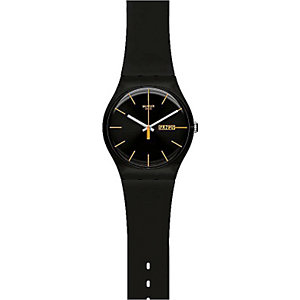 Swatch Herrenuhr Dark Rebel SUOB704