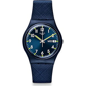 Swatch Herrenuhr Sir Blue GN718