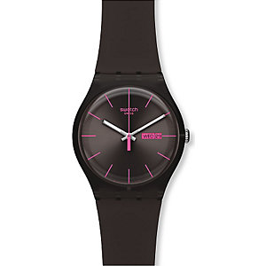 SWATCH Unisexuhr Brown Rebel SUOC700
