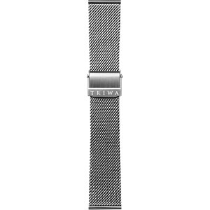 Triwa Metallband Stainless Steel Mesh- Silver ME021212