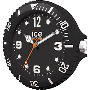 Wanduhr Ice Clock Black LWFBK