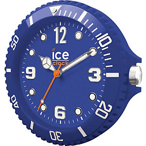 Wanduhr Ice Clock Blue LWFBE
