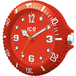 Wanduhr Ice Clock Red LWFRD