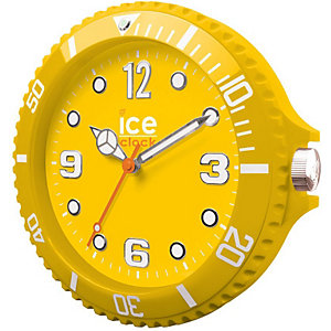 Wanduhr Ice Clock Yellow LWFYW
