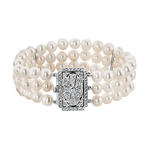 CHRIST Pearls Armband 86475596