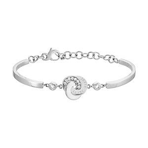 JETTE Silver Armband Circles 86914956
