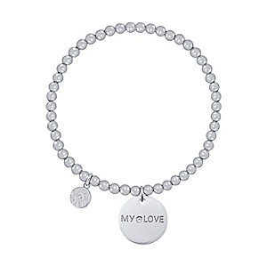 JETTE Silver Armband My Love 86938235