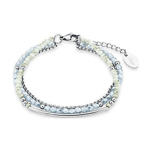 s.Oliver Armband Lightgreen meets Grey 573122