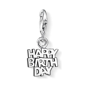 Thomas Sabo Charm HAPPY BIRTHDAY 0883-001-12