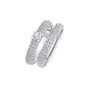 CHRIST Diamonds Ringset