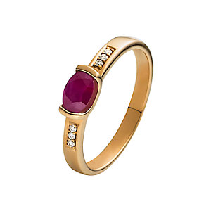 CHRIST Rubin Damenring Ring 86726858