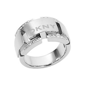 DKNY Damenring Plain Metal NJ1330040