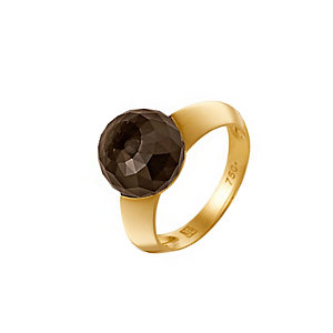 JETTE Gold SMOKY SPARKLE Damenring