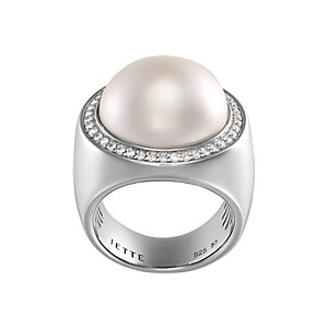 JETTE Silver LOCOMOTION Ring