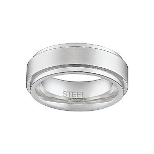 STEEL BY CHRIST Edelstahlring