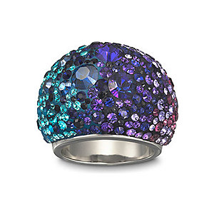 Swarovski Damenring Chic Multi Blue 1110435
