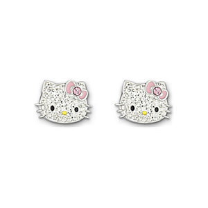 Swarovski Ohrstecker Hello Kitty Pink Bow 1175745