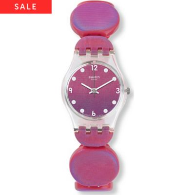 Swatch Damenuhr Moving Pink LK357