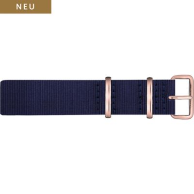 Paul Hewitt Uhrenarmband Textil Nato PH-NS-R-N-20
