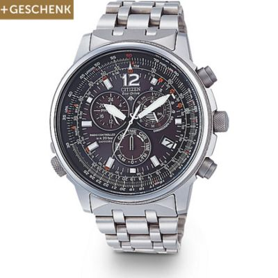 CITIZEN Herrenchronograph PROMASTER RADIO CONTROLLED AS4050-51E