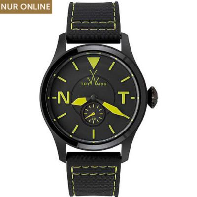 ToyWatch Unisexuhr Toy2Fly Black Green Details TTF07BKGR