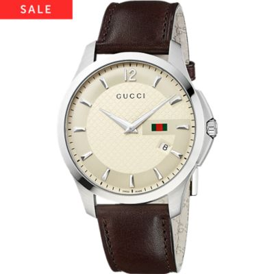 GUCCI Herrenuhr G-Timeless YA126303