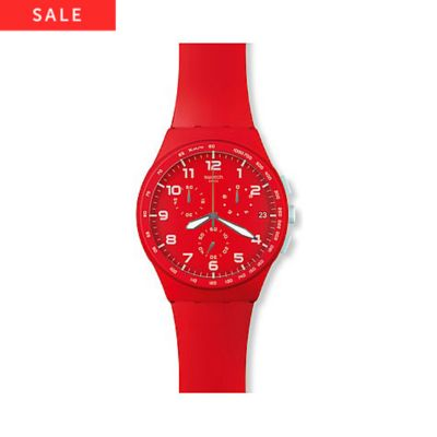 Swatch Chronograph Red Shadow SUSR400