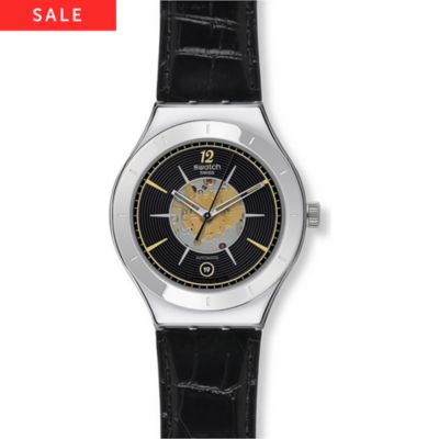 Swatch Herrenuhr Dark Sky YAS407