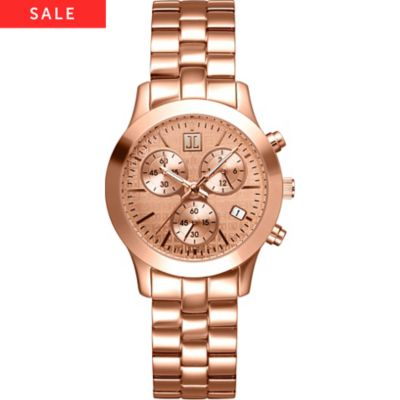Jette Time PYRAMID Chronograph rosegold
