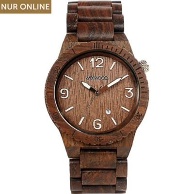Wewood Herrenuhr Alpha Chocolate WW08001