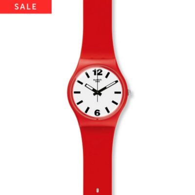 Swatch Herrenuhr Red Pass GR162