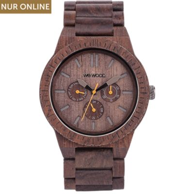 Wewood Herrenuhr Kappa chocolate WW15003