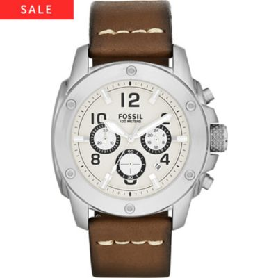 Fossil Herrenchronograph FS4929