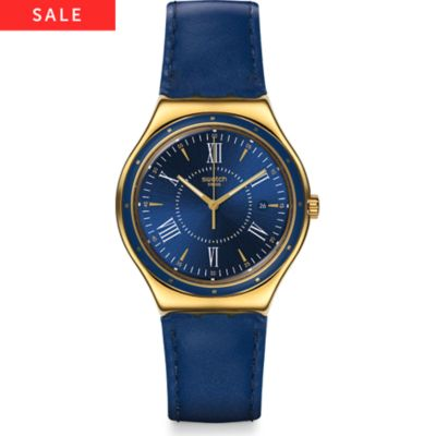 Swatch Herrenuhr Moonshine On Water YWG400