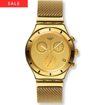 Swatch Chronograph Golden Cover S YCG410GB