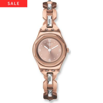 Swatch Damenuhr Octoshine YSG136G