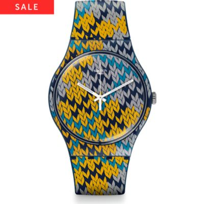 Swatch Herrenuhr Summer Socks SUON110